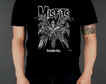 Descending Angel Fiend Face The †Misfits† Design Shirt
