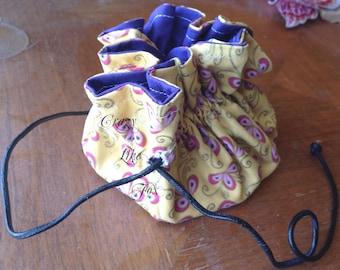 9 Pocket Drawstring Pouch