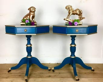 SOLD -DRUM TABLES