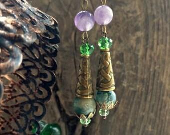 Earrings - Forest Fairy