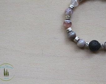 aromatherapy bracelet Botswana Agate