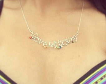 Love is Love-necklace