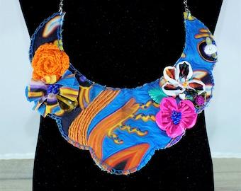 Bib boho statement necklace