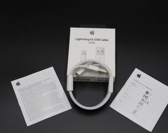 New Apple Lightning Cable USB Cable Charger iPhone 7 6S Plus 5 C SE  3FT