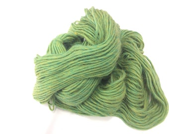 Cascade Yarns Pastaza, Spring Green Knitting Yarn, Llama and Wool