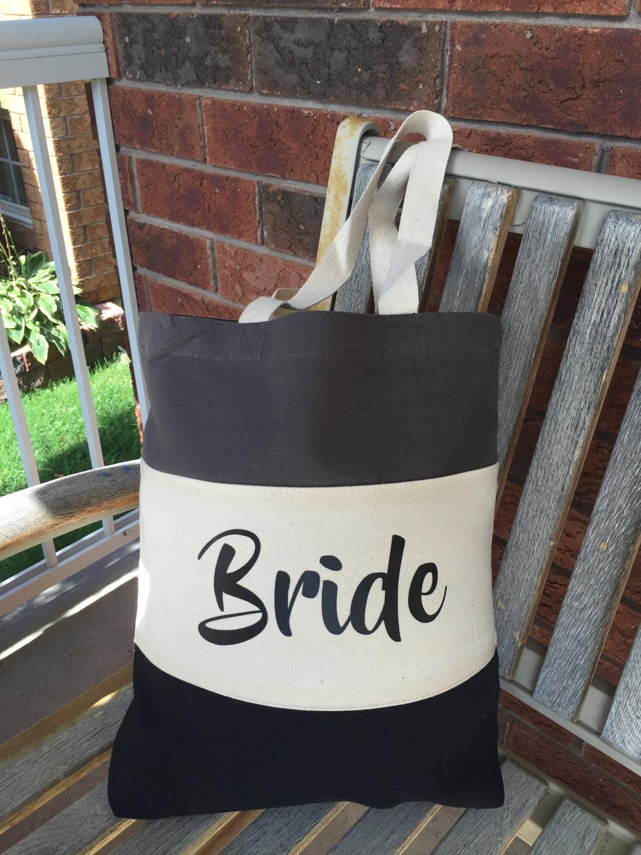 Wedding Tote Bags Bride Tote Bags Wedding Party Gifts Bride