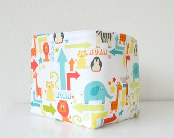 Baby toy storage Storage box Toy storage Nursery storage basket Diaper caddy Toy storage bin Baby gifts Baby shower gifts Baby boy