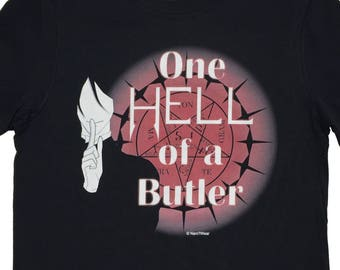 Black Butler Anime Geek T-Shirt One Hell of a Butler