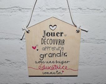 """MINI House """"Teacher"""" poster"""