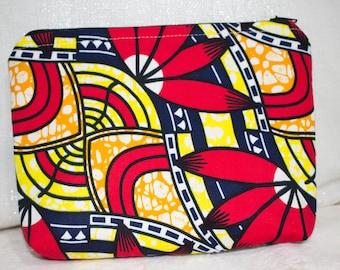 African fabric necessaire