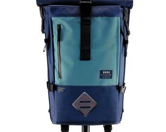 Adventurist RT | Midnight Steel Blue Roll Top Backpack