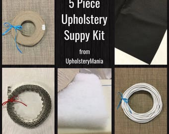 5 Pc Upholstery Supply Kit