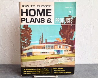 How To Choose Home Plans & Products Book