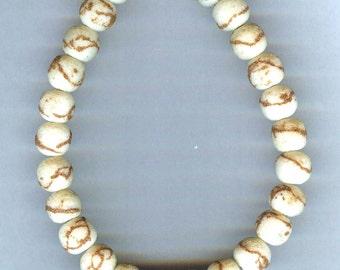 Matte Tiger Coral Limestone Beads 10mm 10 pcs UNIQUE QUALITY