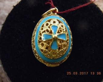 ARR 14k Enamel Filigree charm/pendant