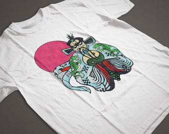Big Trouble In Little China Inspired Foo Manchu TShirt [1980s Subli Quality]