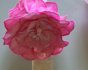 Corsage in rice paper