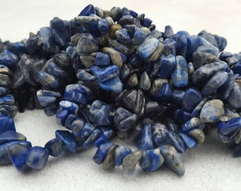 Lapis Lazuli and Blue Adventurine Reiki - Energy Healing bracelets - Job Lot of 14 Elasticated Bracelets