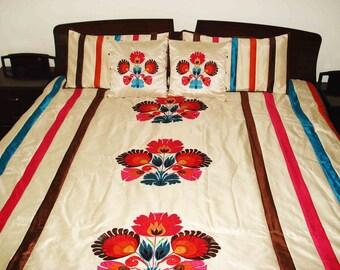 Queen Duvet Cover-Mandala bedding