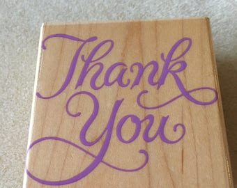 """Stamps. Script """"Thank You"""", Country""""Homemade By"""",""""Highlighting""""."""
