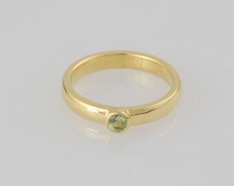 Ring • • gold tourmaline