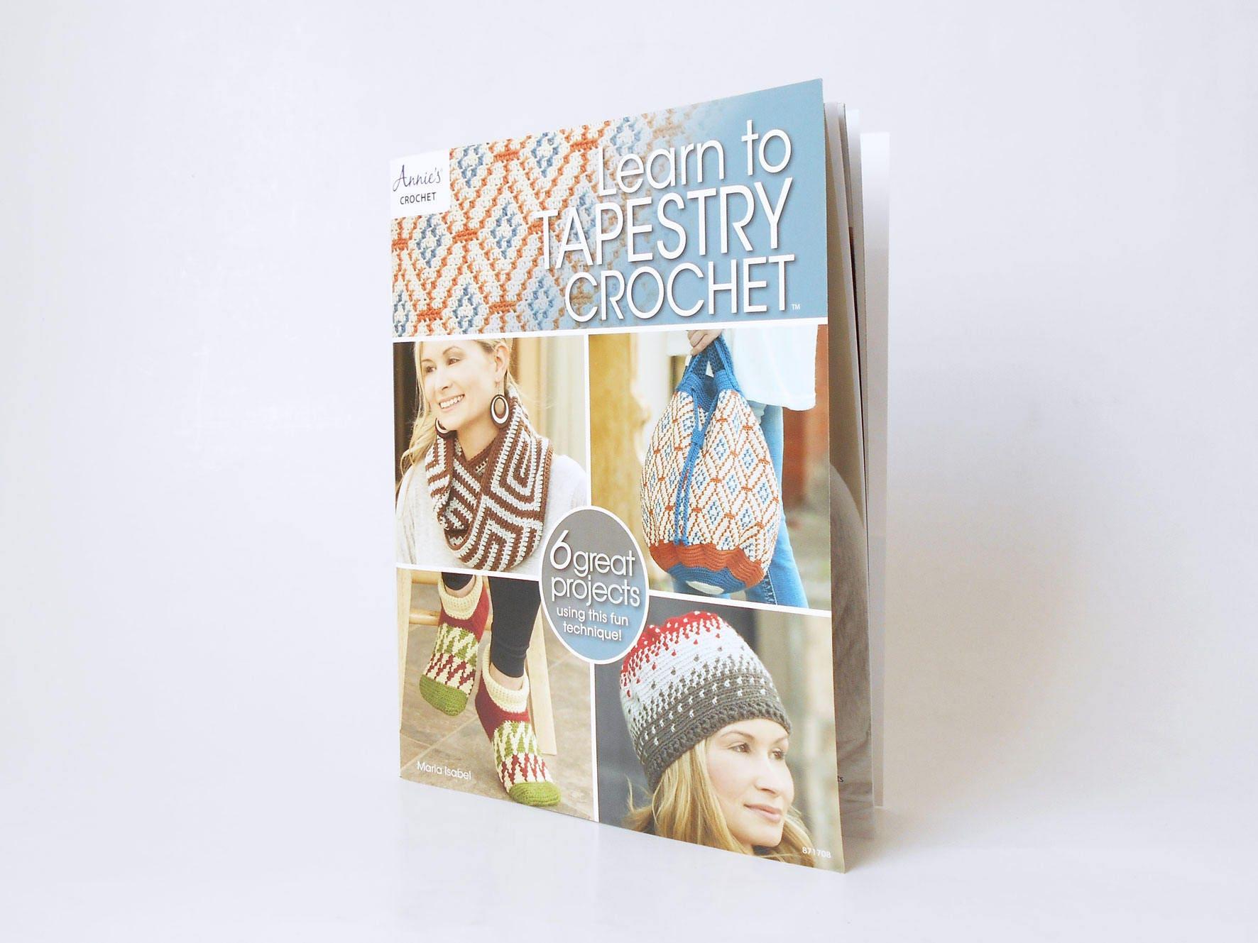 Libro Learn to Tapestry Crochet versión impresa libro