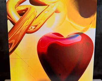 Unchained Heart - Valentine Card