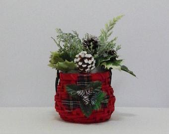 Christmas Floral Arrangement, Merry Christmas, Holiday Decoration, Christmas Planter, Christmas Decor, Christmas Floral, Holiday Decor