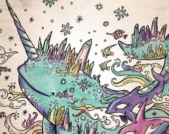 "coloring book ""Magical creatures coloring"""