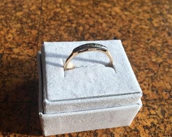 Orange Blossom Diamond Ring