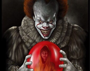Pennywise Clown 2017 -  A2 Print