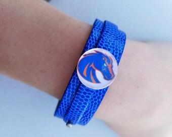 BSU Snap Bracelet
