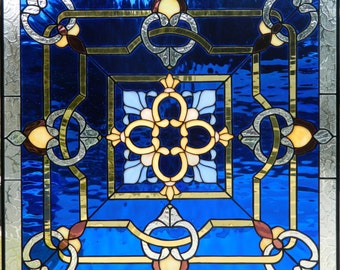 VICTORIAN STYLE WINDOW Stained Glass