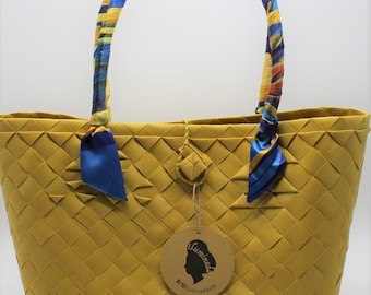 Julie Yellow Tote