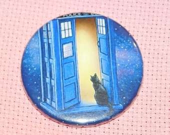 CLEARANCE, Seconds stock, Cat Needle Minder, Licensed, Cross Stitch Keeper, Jenny Parks Art, Fridge Magnet, Button Magnet, Pin Holder