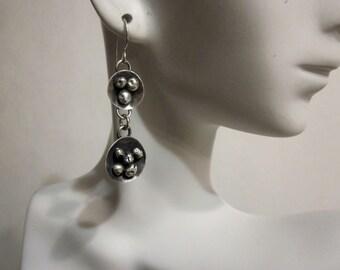 Bella's Sterling Drop Ball Earrings