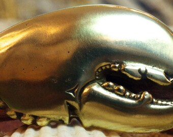 Crusher Claw Lobster Belt Buckle