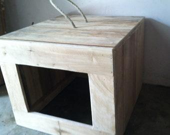 Rustic Cat Litter Box Cover, Primitive Cat Litter Box Cover, Litter Box Cover, Reclaimed Wooden Litter Box Cover, Cat Litter Box, Litter Box