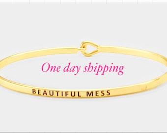Beautiful mess ( the inspired bangle)