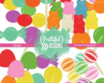 Candy Clip Art Commercial Use PNG & Vector Format