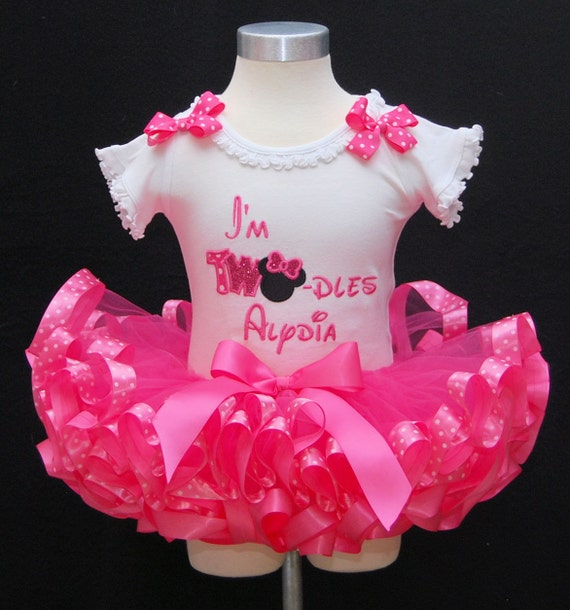 2nd Birthday Tutu Outfit Minnie Mouse Tutu Outfit I'm