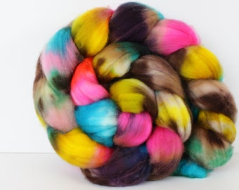 Crystal Canyon 4 oz Merino softest 19.5 micron Roving Top for spinning
