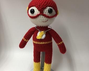 Fast Man, The Flash, Super Hero Doll