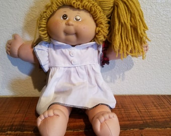 Vintage Cabbage Patch Doll, 1990s toys, Retro Toys, Dolls for Girls, Birthday gift for kids, Nineties Nostalgia