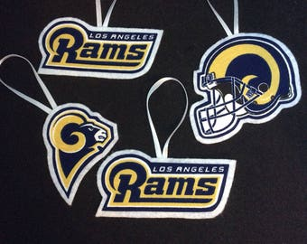 Los Angeles Rams Ornaments-Set of 4