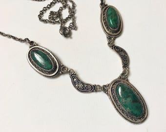 vintage eilat stone necklace