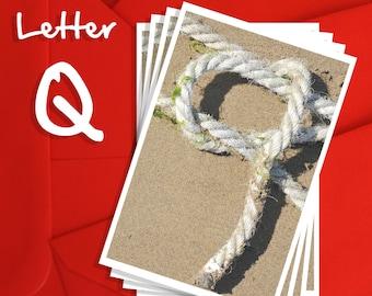 Alphabet Photography Letter Q Choices, Alphabet Photography 6x4, 7x5 or 8x6 Prints