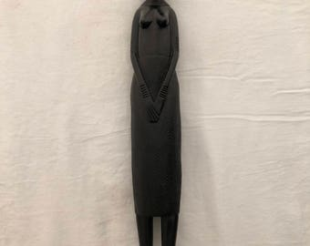 African Ebony Wood Carving