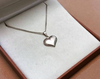 Heart pendant silver 835 heart charm rar SK1129