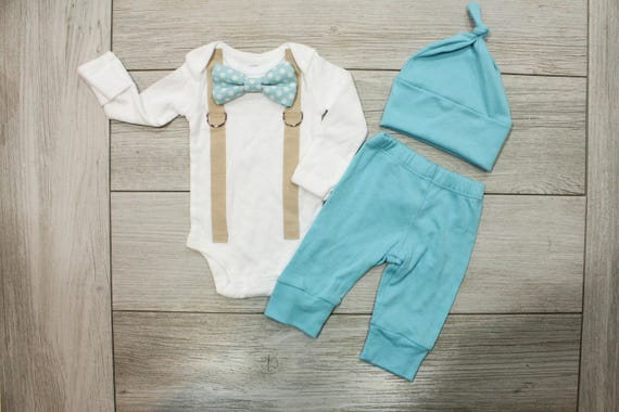 Baby Boy Coming Home Outfit Newborn Hospital Outfit Boy